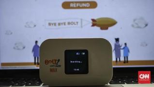 3 Ribuan Pelanggan Bolt Sudah <i>Refund</i> Pulsa