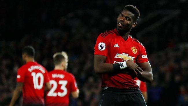 Bursa transfer musim 2019/2020 bisa jadi waktu yang tepat bagi Manchester United untuk melepas gelandang andalannya, Paul Pogba.