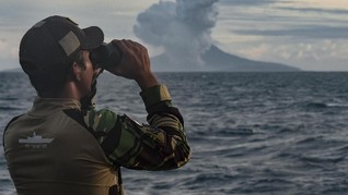 Analisis Para Ahli Soal Misteri Dentuman Usai Erupsi Krakatau
