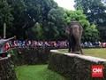 FOTO : Liburan Tahun Baru di Taman Margasatwa Ragunan