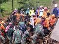 Korban Longsor Sukabumi Terus Bertambah, 9 Tewas 34 Hilang