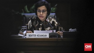 DPR Setujui Permintaan Anggaran Sri Mulyani Rp43 T untuk 2021