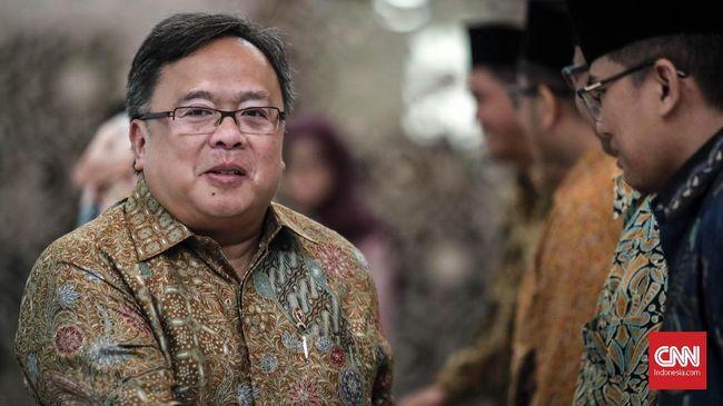 Menteri PPN Bambang Brodjonegoro memproyeksi kebutuhan dana untuk memindahkan ibu kota dari Jakarta ke kota lainnya mencapai Rp323 triliun-Rp466 triliun.