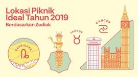 INFOGRAFIS: Lokasi Piknik Ideal Tahun 2019 Berdasarkan Zodiak