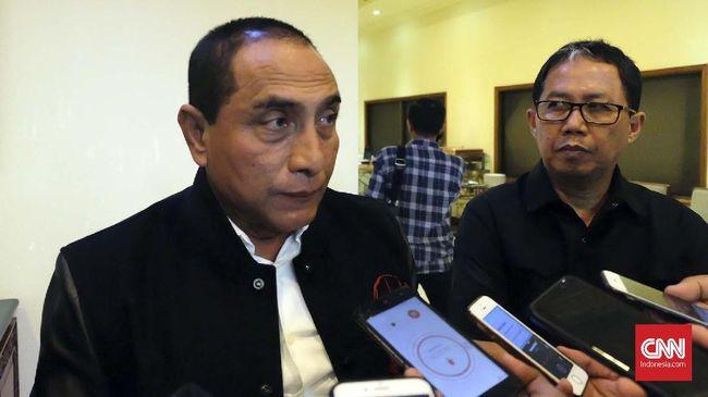 Gubernur Edy Rahmayadi meminta warga tak mudik baik ke Sumut atau keluar untuk menekan penyebaran virus corona.