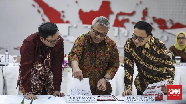 KPU memastikan surat suara yang telah disepakati akan dipakai untuk pemilu presiden dan pemilu legislatif tingkat nasional tahun 2019.