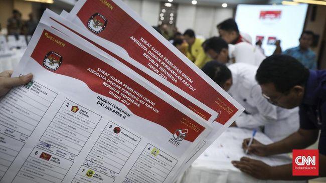 Komisi Pemilihan Umum (KPU) bakal memulai mencetak surat suara Pemilihan Umum (Pemilu) 2019 secara masif hari ini, Jumat (18/1).