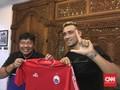 Asisten Pelatih Persija Puji Bruno Matos di Laga Amal Lampung