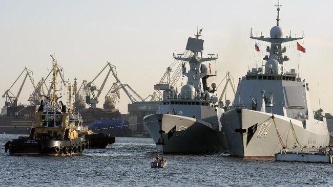 China, Rusia, dan Iran Gelar Latihan Militer Bersama