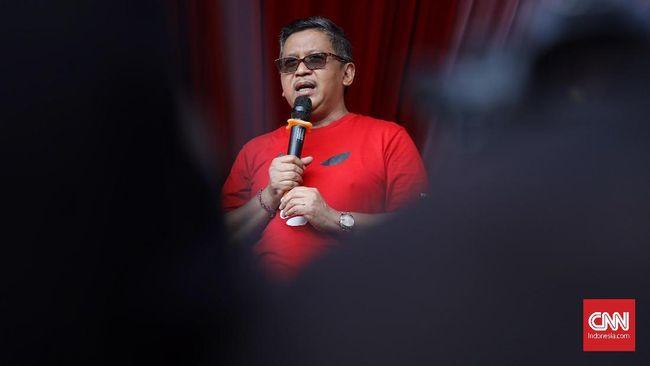 Ketua DPP PDIP Djarot Saiful Hidayat menyebut Sekjen Hasto Kristiyanto mengidap diare akibat aktivitas yang padat dalam beberapa hari terakhir.