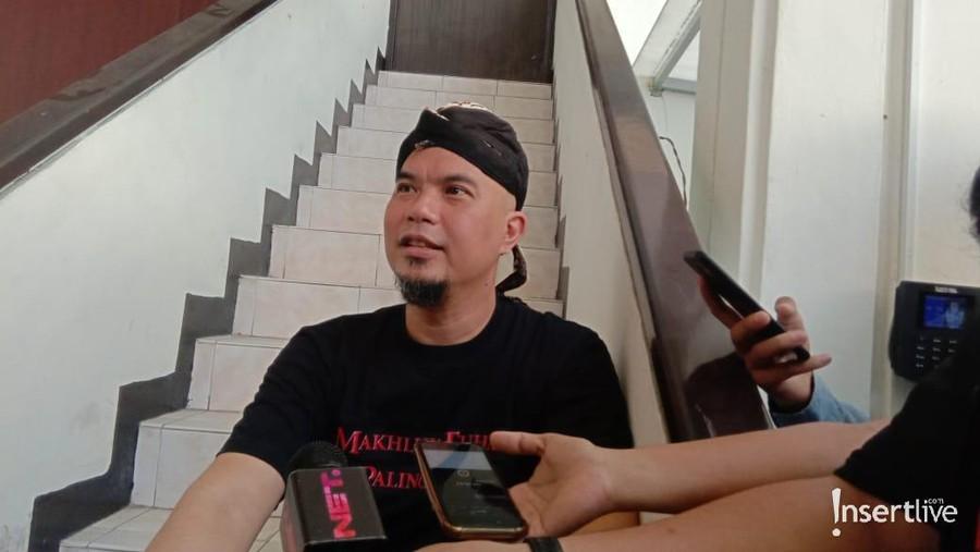 Digiring ke Mobil Tahanan, Ahmad Dhani Ngamuk