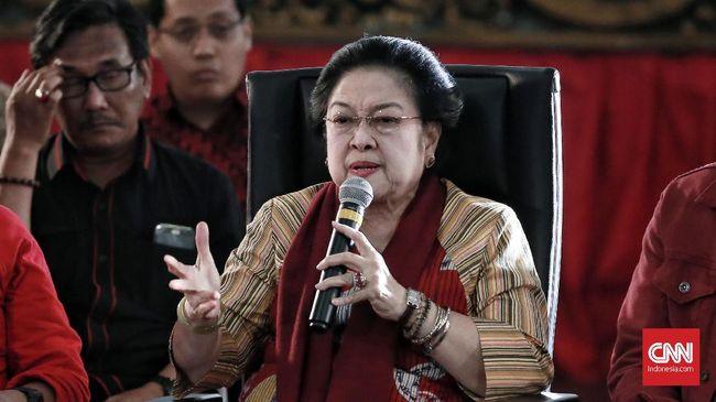 Ketua Umum PDIP Megawati Soekarnoputri menyesalkan masih banyak isu ujaran kebencian dan kabar bohong atau hoaks yang menimpa capres petahana Joko Widodo.