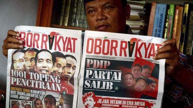 Kubu Jokowi-Ma'ruf memninta masyarakat maupun para pendukungnya mewaspadai Obor Rakyat yang punya rekam jejak pidana karena berita hoaks.