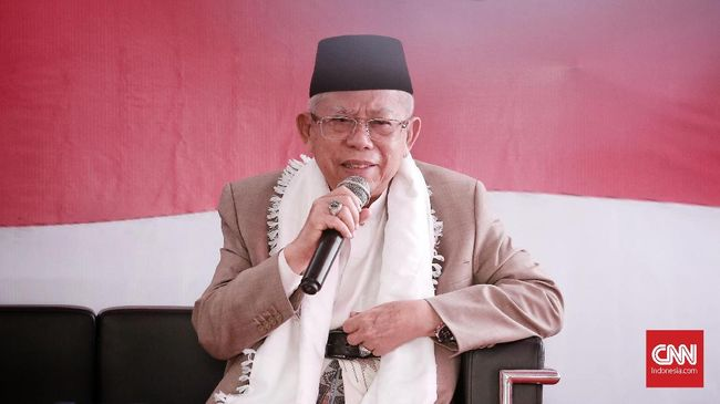 Menanggapi tulisan surat Ahmad Dhani soal klasifikasi anggota NU, Mustayar NU Ma'ruf Amin menyindir politikus Gerindra itu tak tahu apapun soal NU.