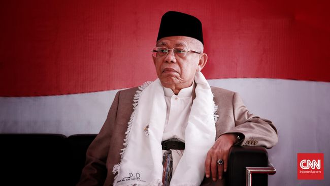 Ma'ruf Amin Nyatakan NU Sepenuh Hati Dukung Jokowi di Pilpres