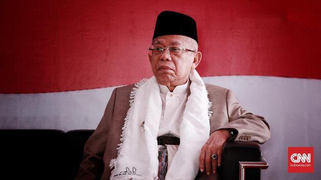 Dukungan diberikan karena NU kata Ma'ruf Amin, yakin Jokowi merupakan calon presiden yang mencintai umat Islam, ulama dan santri.