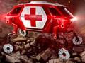 Hyundai Rancang Mobil Penyelamat Berkaki Robotik