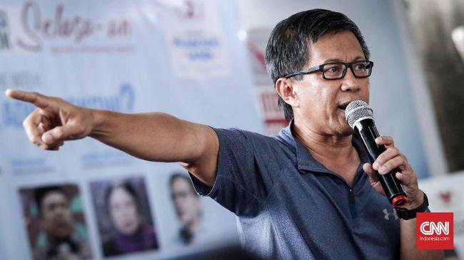 Rocky Gerung berniat menggugat PT Sentul City Tbk senilai Rp1 triliun sebagai balasan somasi untuk mengosongkan dan membongkar rumah.