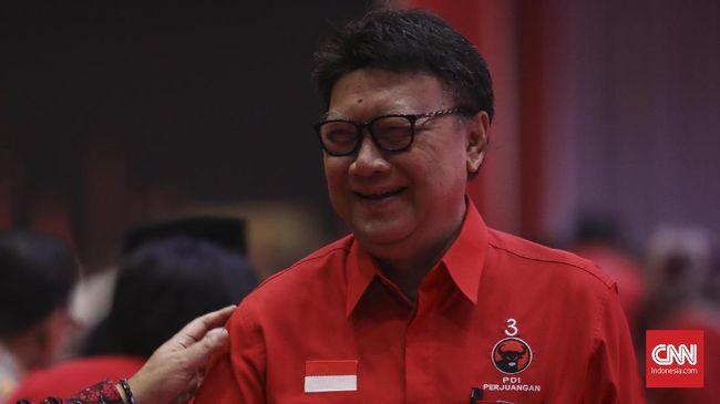 Menteri Dalam Negeri Tjahjo Kumolo mengatakan bakal menuruti segala keputusan Ketua Umum PDIP Megawati dan juga Presiden Joko Widodo.