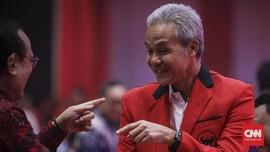 Ganjar Pranowo Tak Sengaja Bertemu Risma di Makam Bung Karno