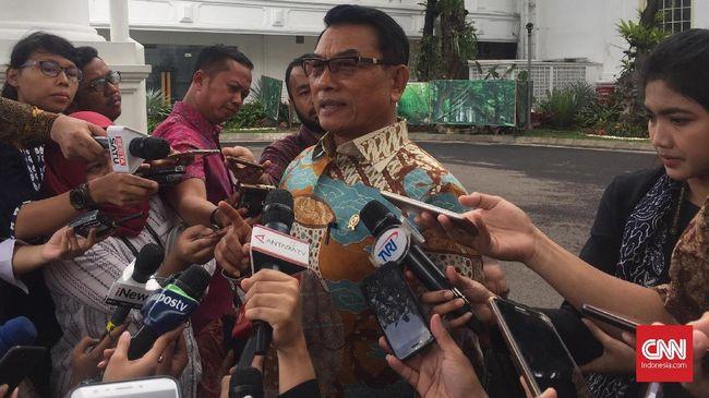 Moeldoko berharap pendukung Jokowi-Ma'ruf datang ke TPS untuk mencoblos di Pilpres. Dia tak ingin Jokowi kalah dan bernasib seperti Hillary Clinton.