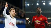 Tottenham Vs Man United: Adu Kreasi Eriksen Dengan Pogba