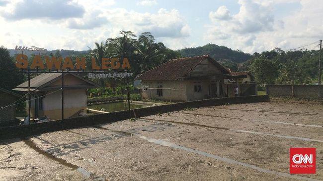 'Tersasar' di Geopark Pongkor