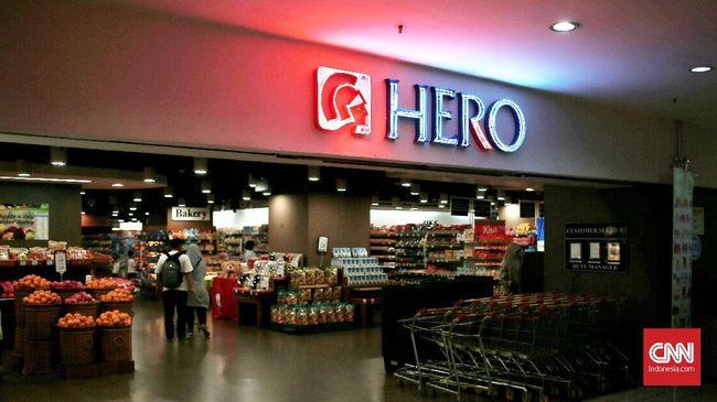 Hero Supermarket mengklaim bisnis penjualan makanan turun hingga 6 persen. Akibatnya, perusahaan merugi hingga Rp163 miliar pada kuartal III 2018.