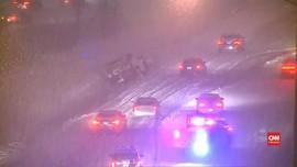 VIDEO: Badai Salju Hantam AS, Terparah Sejak Beberapa Tahun