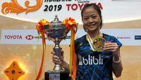Fitriani Bawa Pulang Gelar Juara Dari Thailand Masters