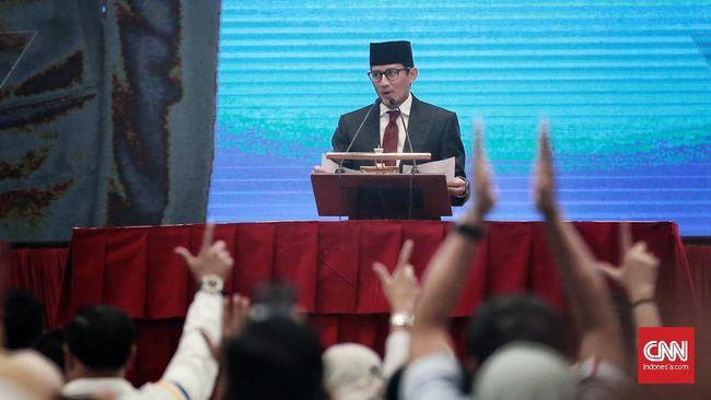 Sandiaga menyatakan semua rakyat Indonesia menginginkan pelaksanaan pemilu 2019 berlangsung jujur, dan adil sehingga penyelenggara pemilu harus mewujudkan itu.