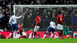 FOTO: Man United Menang Atas Tottenham, De Gea Jadi Penentu