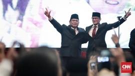 Survei LSI: Prabowo-Sandi Menteri Jokowi Paling Memuaskan