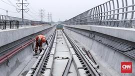 Uji Coba Rute LRT Jabodebek Diperpanjang ke Cililitan