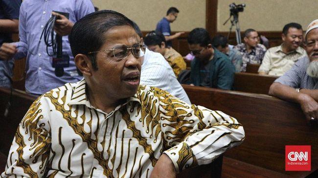Idrus Marham didakwa menerima suap sebesar Rp2,25 miliar dari pengusaha Johanes Kotjo dalam kasus korupsi PLTU Riau-1.