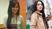 <p>Sandra Dewi tetap oke saat sebelum dan sesudah punya anak. Jadi, mana favorit '10YearsChallenge' Bunda? (Foto: Instagram/sandradewi)</p>