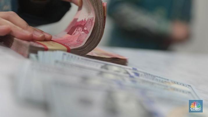 Pukul 10.00 WIB: Rupiah Melemah ke Rp 15.655/US$
