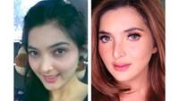 <p>Bunda Ashanty juga mengunggah foto zaman 2009 dan 2018 nih. Awet muda! (Foto: Instagram/ashanty_ash)</p>