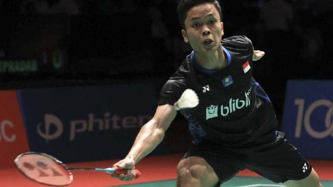 Tunggal putra Indonesia, Anthony Ginting mengaku tak terbebani dengan status juara bertahan yang disandangnya di ajang Indonesia Masters 2019.