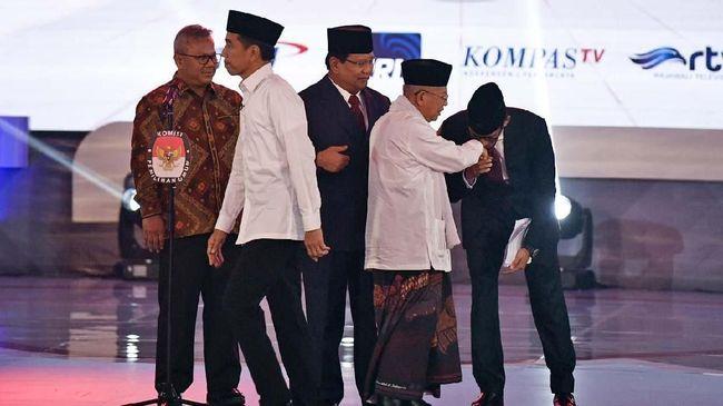 KPU sudah menyatakan Ma'ruf Amin dan Sandiaga Uno tidak wajib datang dalam debat kedua Pilpres 2019, namun kedua kubu memastikan mereka tetap bakal hadir.