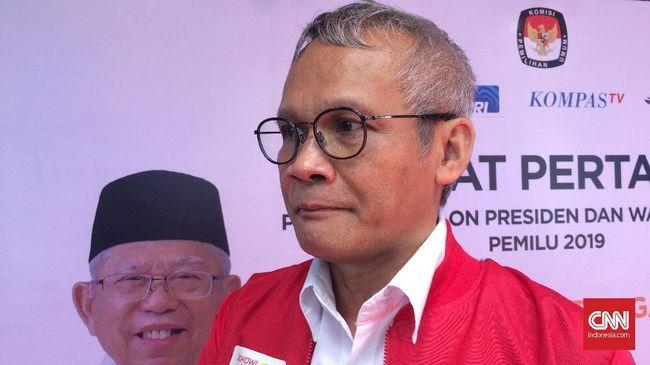 Direktur Program dan Kampanye TKN Aria Bima menyebut Prabowo Subianto sempat kebingungan dalam menjawab pertanyaan yang terlontar saat sesi debat capres 2019.