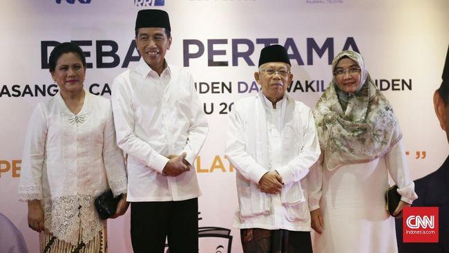 Calon Presiden Jokowi menyatakan akan menggunakan referensi data penting dalam debat perdana Pilpres 2019 yang digelar malam ini.