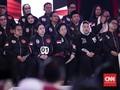 Keakraban Yenny Wahid-Megawati dalam Debat Perdana Pilpres