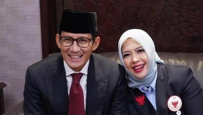 Romansa Perkawinan Sandiaga Uno, Menikah dengan Cinta Pertamanya