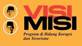 Debat Capres Perdana: Visi-Misi Prabowo-Sandi soal Korupsi