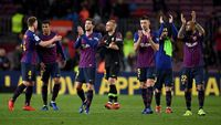 Dembele-messi Loloskan Barcelona Ke Perempatfinal Copa Del Rey