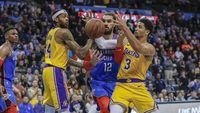 Hasil Nba: Lewat Overtime, Lakers Kalahkan Thunder