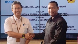 Inalum Gandeng Uncen untuk Pengembangan Tambang di Papua