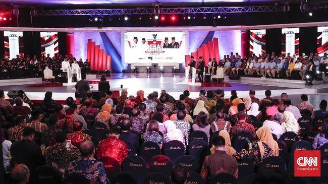 Debat cawapres di Pilpres 2019 dijadwalkan pada Minggu (17/3) di Hotel Sultan serta mempertemukan Ma'ruf Amin dan Sandiaga Uno.