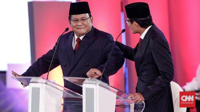 Aksi joget yang dilakukan capres nomor urut 02 Prabowo Subianto dalam Debat Capres Cawapres Kamis malam lalu diklaim PDIP akan menguntungkan Jokowi-Ma'ruf.
